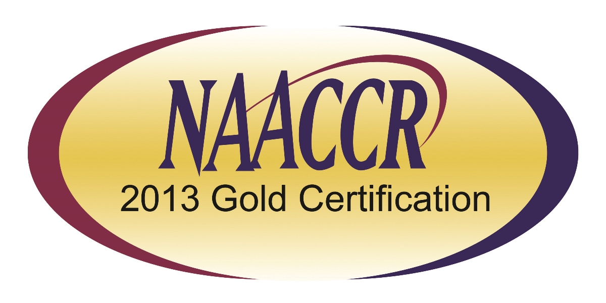 NAACCR Gold Certification