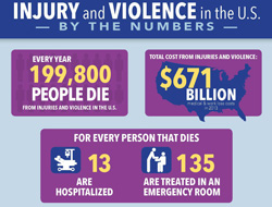 Injury and Violence in the U.S.