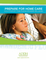 Prepare for Home Care - Child (brochure)