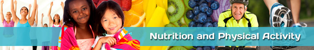 Nutrition and Physical Activity Header Image